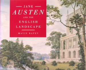 Jane Austen and the English Landscape book cover
